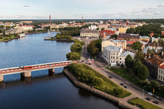Wyborg, Russland, im August 2016: Historisches und Architekturmuseum-reserve-Schloss lizenzfreie stockfotos