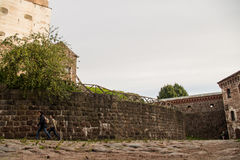 Wyborg, Russland, im August 2016: Historisches und Architekturmuseum-reserve-Schloss Lizenzfreie Stockfotografie