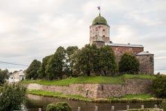 Wyborg, Russland, im August 2016: Historisches und Architekturmuseum-reserve-Schloss Stockfotos