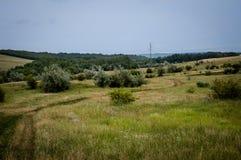 Wyborowy krajobraz zdjęcie stock