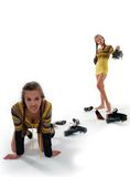 wyborowy obuwie Obraz Royalty Free