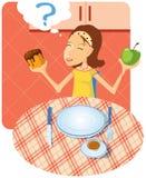 wyborowy posiłek royalty ilustracja