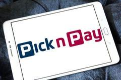 Wyboru n wynagrodzenia Prowiantowy logo Zdjęcia Stock