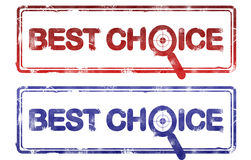 wyboru najlepszy znaczek Zdjęcie Stock