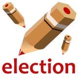 wybory Zdjęcie Stock