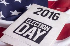 Wybory 2016 Zdjęcie Royalty Free