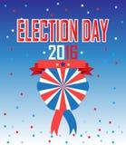 Wybory 2016 royalty ilustracja
