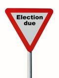 Wybory należny Zdjęcie Stock