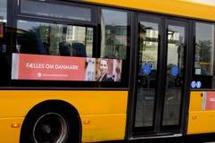 WYBORY plakat OD OGÓLNOSPOŁECZNEGO DEMOKRATA Zdjęcia Stock