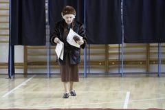Wybory Rumunia Obrazy Royalty Free