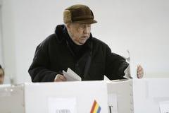 Wybory Rumunia Zdjęcia Royalty Free