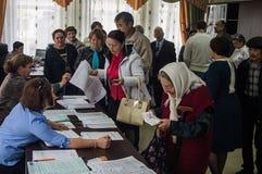 Wybory stan duma federacja rosyjska 18 2016 w Kaluga regionie Wrzesień Zdjęcia Royalty Free