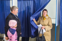 Wybory stan duma federacja rosyjska 18 2016 w Kaluga regionie Wrzesień Obraz Royalty Free