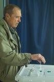 Wybory stan duma federacja rosyjska 18 2016 w Kaluga regionie Wrzesień Obraz Stock