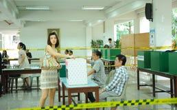 wybory Thailand Obrazy Stock