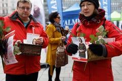 Wybory w Finlandia Fotografia Royalty Free