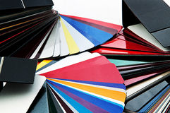 Wybrany kolor dla samochodu Fotografia Royalty Free