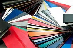 Wybrany kolor dla samochodu Zdjęcie Stock