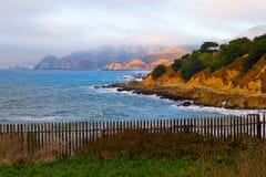 wybrzeża kalifornii słońca zdjęcia stock