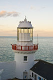 wybrzeża Północnej latarnia morska Wicklow Zdjęcia Royalty Free