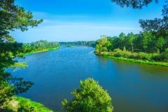 Wybrzeża rzeka Obrazy Royalty Free