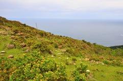 Wybrzeże śmierć w Galicia Spain zdjęcia stock