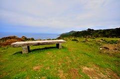 Wybrzeże śmierć w Galicia Spain fotografia stock