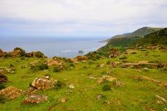Wybrzeże śmierć w Galicia Spain obrazy stock