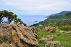 Wybrzeże śmierć w Galicia Spain obrazy royalty free