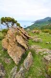 Wybrzeże śmierć w Galicia Spain zdjęcie royalty free