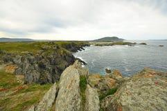 Wybrzeże śmierć w valdoviï ¿ ½ o Galicia fotografia stock