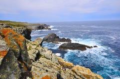 Wybrzeże śmierć w valdoviï ¿ ½ o Galicia obrazy stock