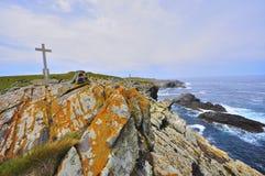 Wybrzeże śmierć w valdoviï ¿ ½ o Galicia zdjęcie stock