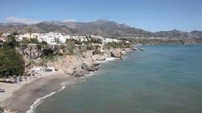 wybrzeże śródziemnomorskie Hiszpanii Fotografia Royalty Free
