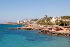wybrzeże śródziemnomorskie Hiszpanii Zdjęcie Stock