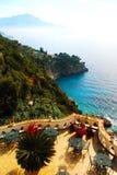 wybrzeże amalfi Fotografia Stock