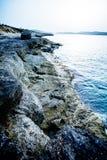 Wybrzeże Bugibba zdjęcie stock