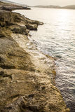 Wybrzeże Bugibba obrazy royalty free