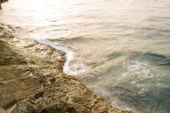 Wybrzeże Bugibba zdjęcia stock