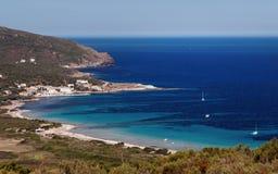 Wybrzeże Corsica przylądek fotografia stock