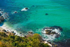 Wybrzeże Crimea Fotografia Stock