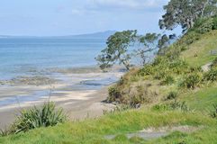 Wybrzeże Długi Podpalany regionalność park Obrazy Royalty Free