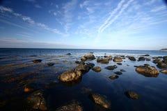 wybrzeże Denmark Zdjęcia Stock