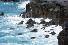 Wybrzeże Guem-ri przy Olle śladem Zdjęcia Royalty Free