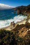 wybrzeże kaliforni Zdjęcie Royalty Free