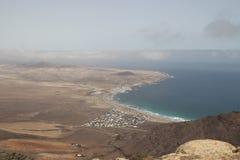 Wybrzeże Lanzarote Zdjęcie Royalty Free