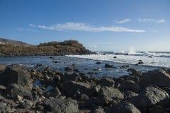 Wybrzeże los angeles Gomera Obraz Royalty Free