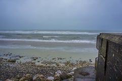 Wybrzeże los angeles Manche zdjęcie royalty free