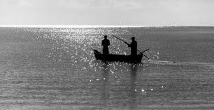 Wybrzeże Mombasa, Kenja, ocean, chmury, wybrzeże Zdjęcia Stock