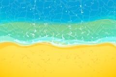 wybrzeże morza ilustracja wektor